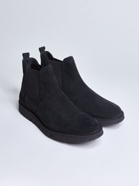 GARMENT PROJECT - Barnes Vibram - Black Suede