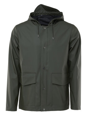 Rains - Short Hooded Coat
