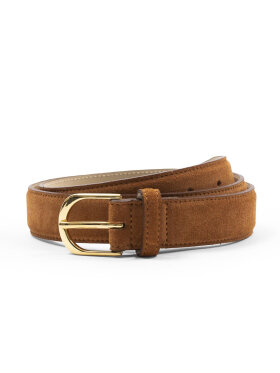 AN IVY - Brown Suede Belt Belts