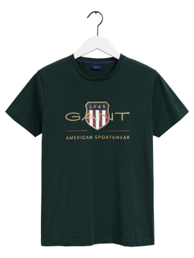GANT - D2. ARCHIVE SHIELD SS T-SHIRT