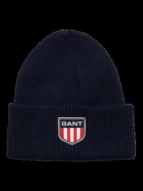 GANT - D1. GANT RETRO SHIELD BEANIE